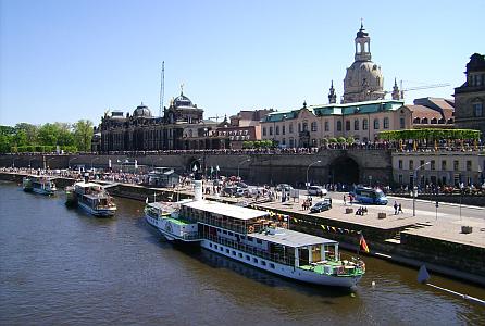 Dampferparade Dresden | © Marion Kottlos | pixelio.de