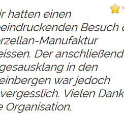 Kundenbewertung | © laubender-touristik.de